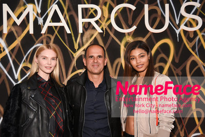 Marcus Lemonis of CNBC The Profit Grand Shop Opening in Meatpacking Guest, Marcus Lemonis and Danielle Herrington - NameFace Photo Agency New York City - hello@nameface.com - nameface.com - Photo by Daniela Kirsch