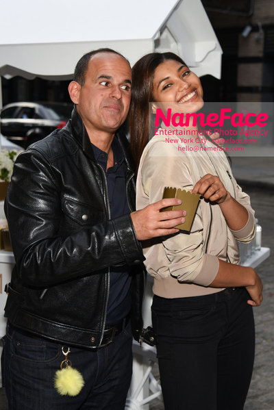 Marcus Lemonis of CNBC The Profit Grand Shop Opening in Meatpacking Marcus Lemonis and Danielle Herrington - NameFace Photo Agency New York City - hello@nameface.com - nameface.com - Photo by Daniela Kirsch