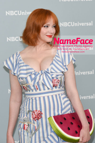 2018 NBCUniversal Upfront Christina Hendricks - NameFace Photo Agency New York City - hello@nameface.com - nameface.com - Photo by Daniela Kirsch