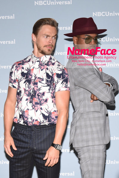 2018 NBCUniversal Upfront Derek Hough and Ne-Yo - NameFace Photo Agency New York City - hello@nameface.com - nameface.com - Photo by Daniela Kirsch