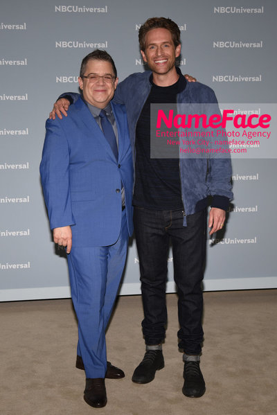 2018 NBCUniversal Upfront Patton Oswalt and Glenn Howerton - NameFace Photo Agency New York City - hello@nameface.com - nameface.com - Photo by Daniela Kirsch