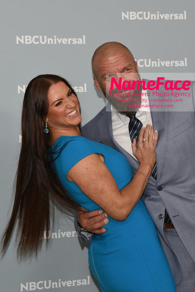 2018 NBCUniversal Upfront Stephanie McMahon and Triple H - NameFace Photo Agency New York City - hello@nameface.com - nameface.com - Photo by Daniela Kirsch