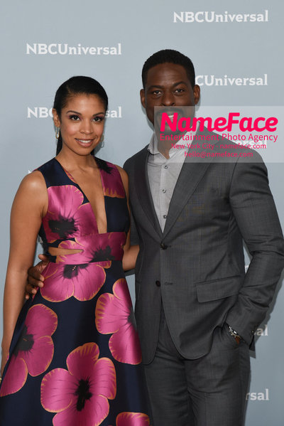2018 NBCUniversal Upfront Susan Kelechi Watson and Sterling K. Brown - NameFace Photo Agency New York City - hello@nameface.com - nameface.com - Photo by Daniela Kirsch