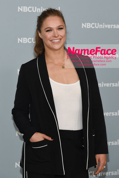 2018 NBCUniversal Upfront Ronda Rousey - NameFace Photo Agency New York City - hello@nameface.com - nameface.com - Photo by Daniela Kirsch