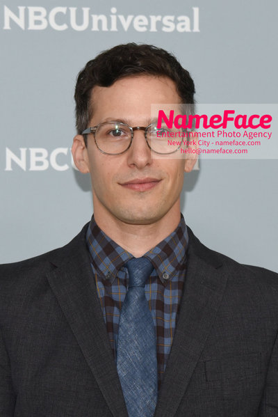 2018 NBCUniversal Upfront Andy Samberg - NameFace Photo Agency New York City - hello@nameface.com - nameface.com - Photo by Daniela Kirsch
