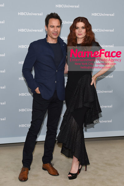 2018 NBCUniversal Upfront Eric McCormack and Debra Messing - NameFace Photo Agency New York City - hello@nameface.com - nameface.com - Photo by Daniela Kirsch