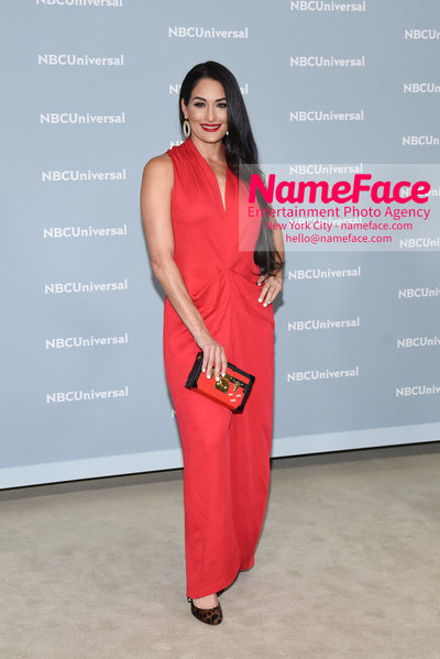2018 NBCUniversal Upfront Nikki Bella - NameFace Photo Agency New York City - hello@nameface.com - nameface.com - Photo by Daniela Kirsch
