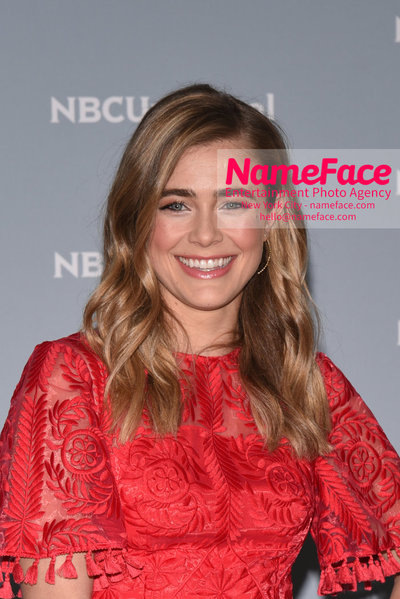 2018 NBCUniversal Upfront Melissa Roxburgh - NameFace Photo Agency New York City - hello@nameface.com - nameface.com - Photo by Daniela Kirsch