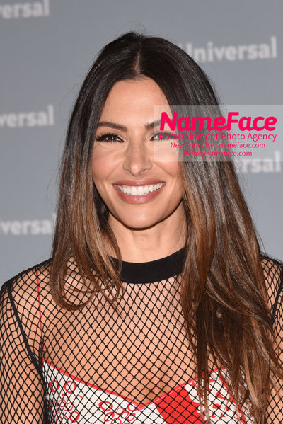 2018 NBCUniversal Upfront Sarah Shahi - NameFace Photo Agency New York City - hello@nameface.com - nameface.com - Photo by Daniela Kirsch