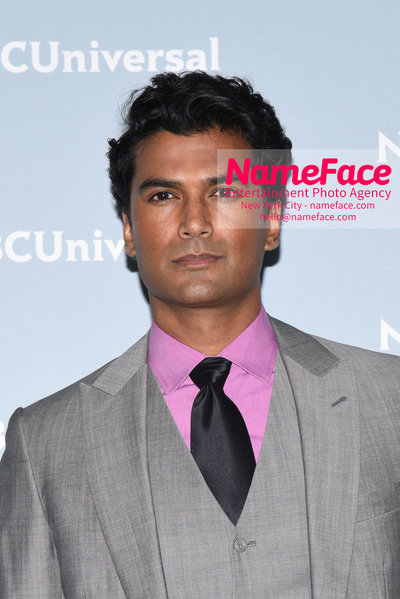 2018 NBCUniversal Upfront Sendhil Ramamurthy - NameFace Photo Agency New York City - hello@nameface.com - nameface.com - Photo by Daniela Kirsch