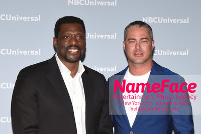2018 NBCUniversal Upfront Eamonn Walker and Taylor Kinney - NameFace Photo Agency New York City - hello@nameface.com - nameface.com - Photo by Daniela Kirsch