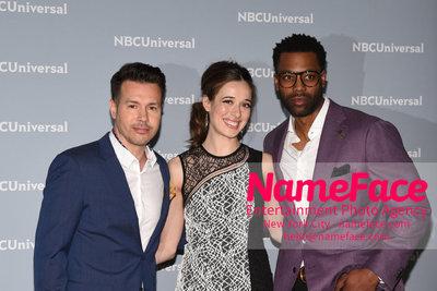 2018 NBCUniversal Upfront Jon Seda and Melanie Doutey - NameFace Photo Agency New York City - hello@nameface.com - nameface.com - Photo by Daniela Kirsch