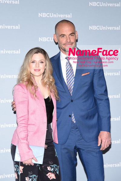 2018 NBCUniversal Upfront Harriet Dyer and Paul Blackthorne - NameFace Photo Agency New York City - hello@nameface.com - nameface.com - Photo by Daniela Kirsch