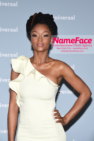 2018 NBCUniversal Upfront Yaya DaCosta - NameFace Photo Agency New York City - hello@nameface.com - nameface.com - Photo by Daniela Kirsch