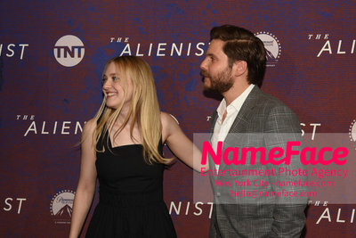 The Alienist FYC Event Dakota Fanning and Daniel Bruhl - NameFace Photo Agency New York City - hello@nameface.com - nameface.com - Photo by Daniela Kirsch