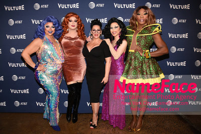5th Annual Vulture Festival 2018 Kalorie Karbdashian-Williams, Jinkx, Michelle Visage, Yuhua and Bebe Zahara Benet - NameFace Photo Agency New York City - hello@nameface.com - nameface.com - Photo by Daniela Kirsch