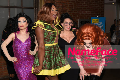 5th Annual Vulture Festival 2018 Yuhua, Bebe Zahara Benet, Michelle Visage and Jinkx - NameFace Photo Agency New York City - hello@nameface.com - nameface.com - Photo by Daniela Kirsch