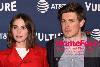 5th Annual Vulture Festival 2018 Alison Brie and Chris Lowell - NameFace Photo Agency New York City - hello@nameface.com - nameface.com - Photo by Daniela Kirsch