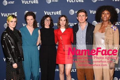 5th Annual Vulture Festival 2018 Gayle Rankin, Liz Flahive, Carly Mensch, Alison Brie, Chris Lowell and Sydelle Noel - NameFace Photo Agency New York City - hello@nameface.com - nameface.com - Photo by Daniela Kirsch