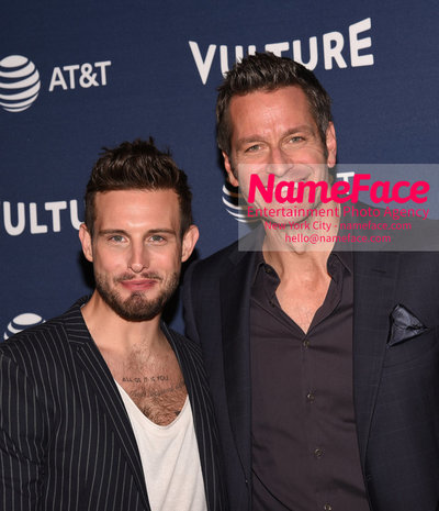 5th Annual Vulture Festival 2018 Nico Tortorella and Peter Hermann - NameFace Photo Agency New York City - hello@nameface.com - nameface.com - Photo by Daniela Kirsch