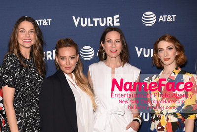 5th Annual Vulture Festival 2018 Sutton Foster, Hilary Duff, Miriam Shor and Molly Kate Bernard - NameFace Photo Agency New York City - hello@nameface.com - nameface.com - Photo by Daniela Kirsch