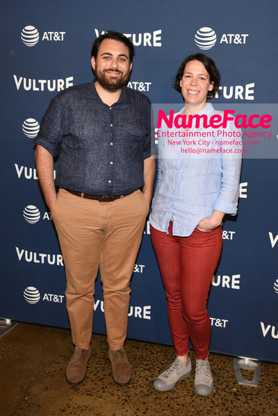5th Annual Vulture Festival 2018 Second Day Brian Reed and Julie Snyder - NameFace Photo Agency New York City - hello@nameface.com - nameface.com - Photo by Daniela Kirsch