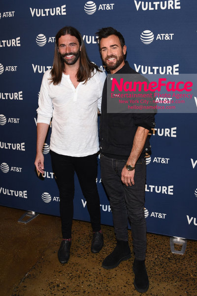 5th Annual Vulture Festival 2018 Second Day Jonathan Van Ness and Justin Theroux - NameFace Photo Agency New York City - hello@nameface.com - nameface.com - Photo by Daniela Kirsch