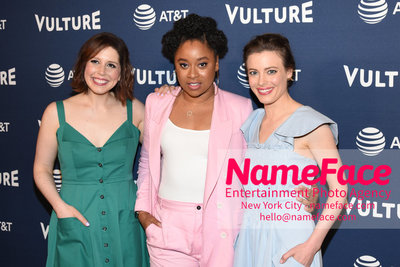 5th Annual Vulture Festival 2018 Second Day Vanessa Bayer, Phoebe Robinson and Gillian Jacobs - NameFace Photo Agency New York City - hello@nameface.com - nameface.com - Photo by Daniela Kirsch