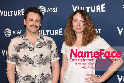 5th Annual Vulture Festival 2018 Second Day Bryan Safi and Erin Gibson - NameFace Photo Agency New York City - hello@nameface.com - nameface.com - Photo by Daniela Kirsch