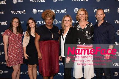 5th Annual Vulture Festival 2018 Second Day Melinda Taub, Amy Hoggart, Ashley Nicole Black, Samantha Bee, Allana Harkin and Mike Rubens - NameFace Photo Agency New York City - hello@nameface.com - nameface.com - Photo by Daniela Kirsch
