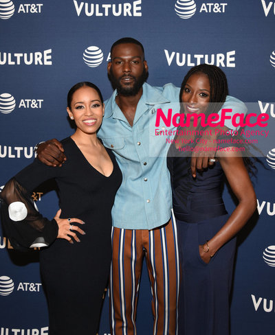 5th Annual Vulture Festival 2018 Second Day Dawn-Lyen Gardner, Kofi Siriboe and Rutina Wesley - NameFace Photo Agency New York City - hello@nameface.com - nameface.com - Photo by Daniela Kirsch