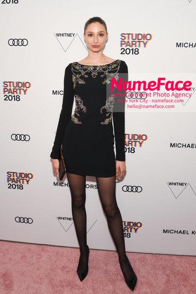 2018 Whitney Gala Sponsored By Audi Alexandra Agoston - NameFace Photo Agency New York City - hello@nameface.com - nameface.com - Photo by Daniela Kirsch