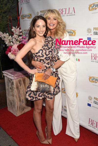 BELLA New York Beauty Cover Launch Party hosted by Alexa Ray Joel Alexa Ray Joel and Christie Brinkley   - NameFace Photo Agency New York City - hello@nameface.com - nameface.com - Photo by Daniela Kirsch