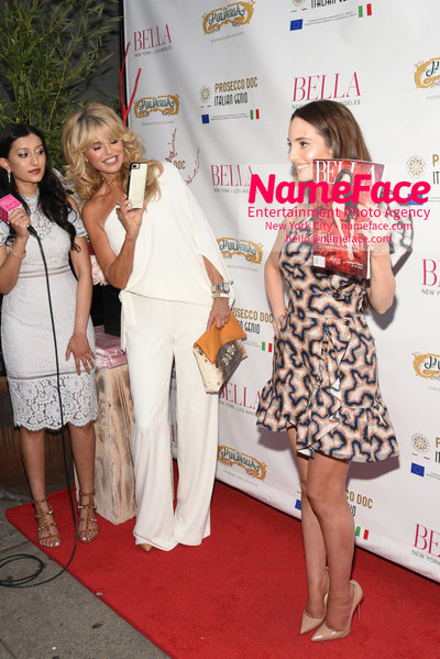 BELLA New York Beauty Cover Launch Party hosted by Alexa Ray Joel Christie Brinkley and Alexa Ray Joel - NameFace Photo Agency New York City - hello@nameface.com - nameface.com - Photo by Daniela Kirsch