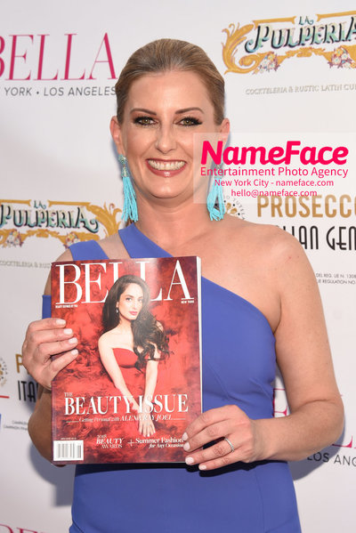 BELLA New York Beauty Cover Launch Party hosted by Alexa Ray Joel Editor in Chief of BELLA Magazine Courtenay Hall - NameFace Photo Agency New York City - hello@nameface.com - nameface.com - Photo by Daniela Kirsch