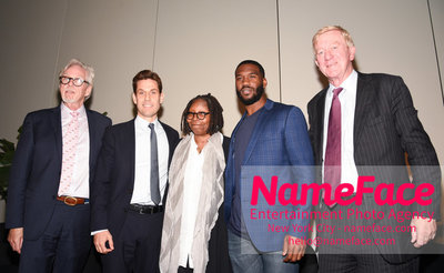CWCBExpo - 5th Annual Cannabis World Congress & Business Exposition Geoff Whaling, Guest, Whoopi Goldberg, Mike James and Bill Weld - NameFace Photo Agency New York City - hello@nameface.com - nameface.com - Photo by Daniela Kirsch