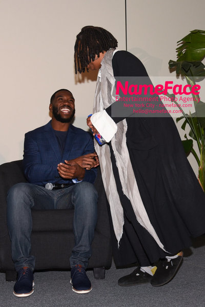 CWCBExpo - 5th Annual Cannabis World Congress & Business Exposition Mike James and Whoopi Goldberg - NameFace Photo Agency New York City - hello@nameface.com - nameface.com - Photo by Daniela Kirsch