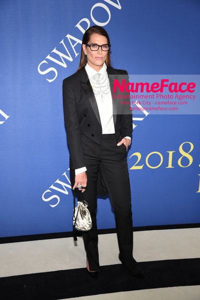 2018 CFDA Fashion Awards Brooke Shields - NameFace Photo Agency New York City - hello@nameface.com - nameface.com - Photo by Steve Eichner