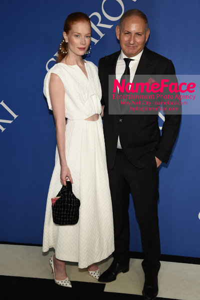 2018 CFDA Fashion Awards Jessica Joffe and John Demsey - NameFace Photo Agency New York City - hello@nameface.com - nameface.com - Photo by Steve Eichner