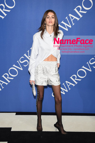2018 CFDA Fashion Awards Kaia Gerber - NameFace Photo Agency New York City - hello@nameface.com - nameface.com - Photo by Steve Eichner