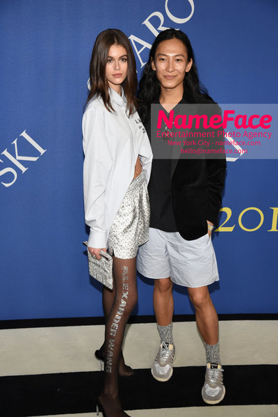 2018 CFDA Fashion Awards Kaia Gerber and Alexander Wang - NameFace Photo Agency New York City - hello@nameface.com - nameface.com - Photo by Steve Eichner