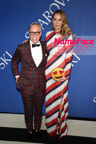2018 CFDA Fashion Awards Tommy Hilfiger and Dee Ocleppo - NameFace Photo Agency New York City - hello@nameface.com - nameface.com - Photo by Steve Eichner