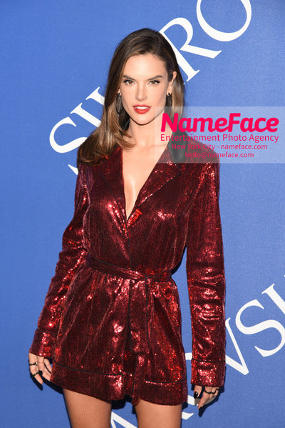 2018 CFDA Fashion Awards Alessandra Ambrosio - NameFace Photo Agency New York City - hello@nameface.com - nameface.com - Photo by Steve Eichner