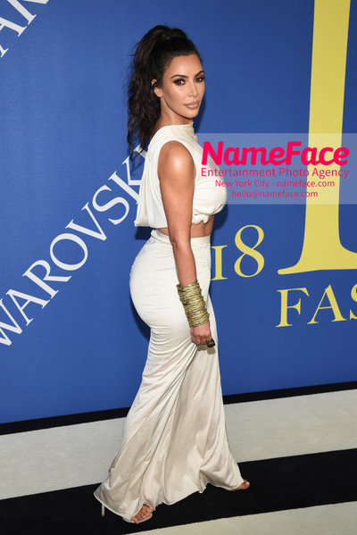 2018 CFDA Fashion Awards Kim Kardashian West - NameFace Photo Agency New York City - hello@nameface.com - nameface.com - Photo by Steve Eichner
