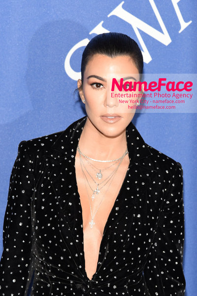 2018 CFDA Fashion Awards Kourtney Kardashian - NameFace Photo Agency New York City - hello@nameface.com - nameface.com - Photo by Steve Eichner