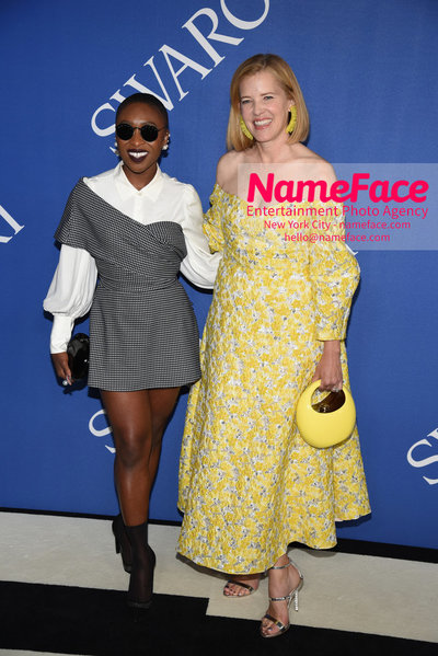 2018 CFDA Fashion Awards Cynthia Erivo and Lela Rose - NameFace Photo Agency New York City - hello@nameface.com - nameface.com - Photo by Steve Eichner