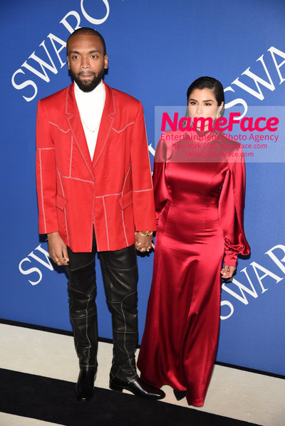 2018 CFDA Fashion Awards Kerby Jean Raymond and Diane Guerrero - NameFace Photo Agency New York City - hello@nameface.com - nameface.com - Photo by Steve Eichner