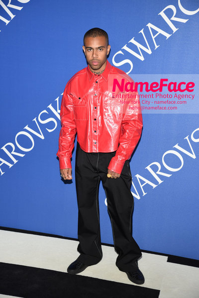 2018 CFDA Fashion Awards Vic Mensa - NameFace Photo Agency New York City - hello@nameface.com - nameface.com - Photo by Steve Eichner