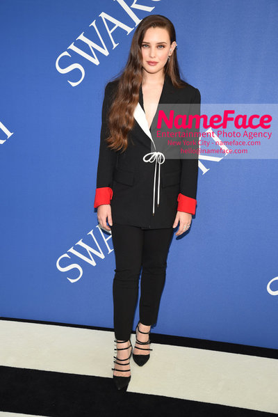 2018 CFDA Fashion Awards Katherine Langford - NameFace Photo Agency New York City - hello@nameface.com - nameface.com - Photo by Steve Eichner