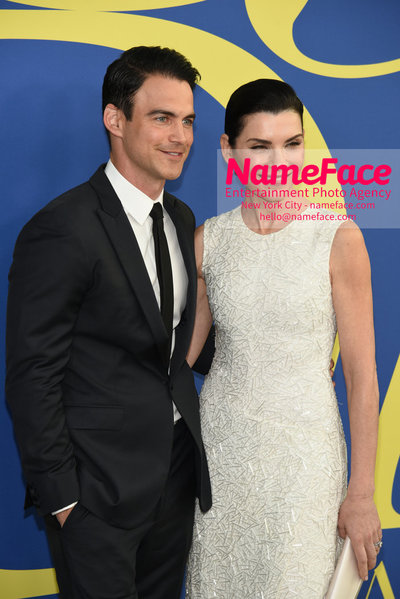 2018 CFDA Fashion Awards Keith Liebertha and Julianna Margulies - NameFace Photo Agency New York City - hello@nameface.com - nameface.com - Photo by Steve Eichner